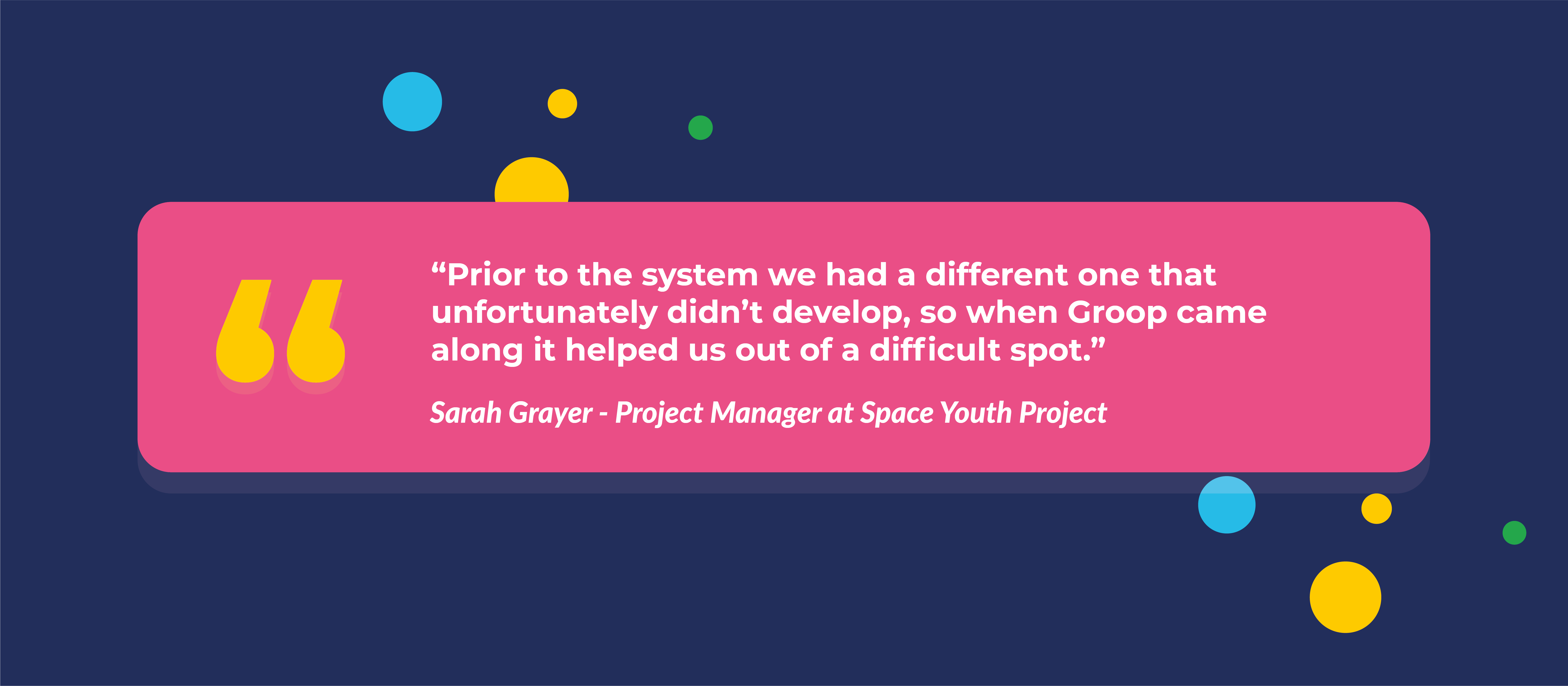 Sarah Grayer Space Youth Project
