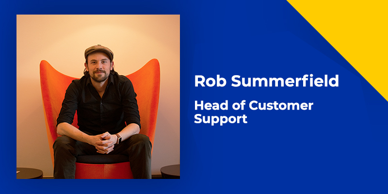 Blog written by Rob Summerfield, Head of Customer Support at Groop