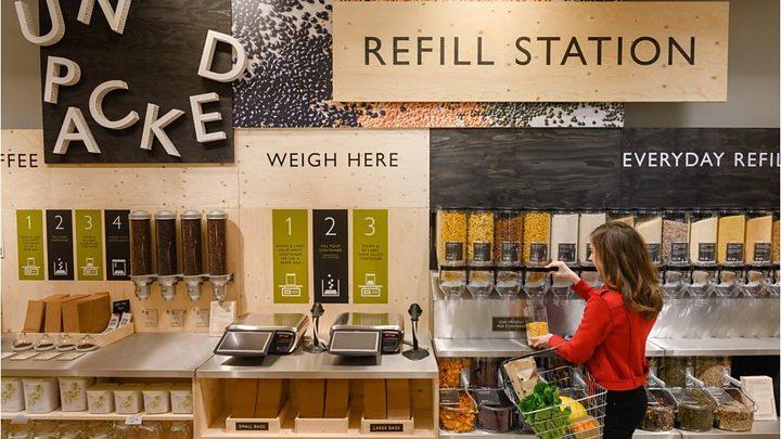 Waitrose refills