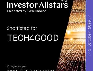 Groop Shortlisted for the Allstars Investor Awards 2020